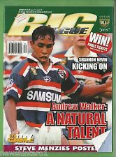 #UU. RUGBY BIG LEAGUE MAGAZINE 14/8 - 20/8 1997, STEVE MENZIES- MANLY  PINUP