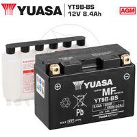 BATTERIA YUASA YT9B-BS 12V 8Ah YAMAHA YZF R6 - R6S - R6SC - R6SV 600 2003 2004