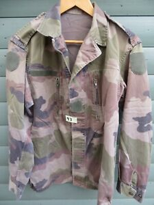 FRENCH ARMY/MILITARY CAMOUFLAGE LIGHTWEIGHT JACKET - REF93