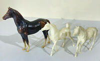 Lot of 3 Breyer & Reeves & Breyer Moulding Company Horses