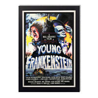 Young Frankenstein 1974 Mel Brooks Reproduction Vintage Glossy Poster 24 x 36in