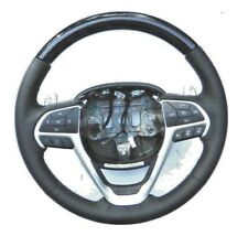 READ.... OEM Jeep Grand Cherokee Leather Steering Wheel w/ Paddle Shifter, Mopar