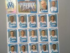 panini foot 2005 equipe MARSEILLE   COMPLETE