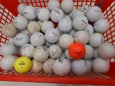 Job lot 85 used golf balls - assorted makes and colours - ? for practise. (Lot 1