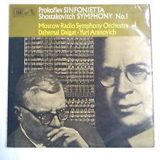 """ASD 2765 Prokofiev / Shostakovich 12"""" Vinyl LP 1971 VG/VG+"""