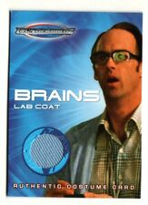 "THUNDERBIRDS Movie (TC3) BRAINS ""Lab Coat"" Costume Card"