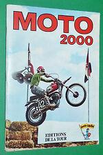 RARE ALBUM PANINI EDITIONS DE LA TOUR 1973 MOTO 2000 INCOMPLET 159/200