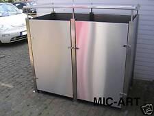 Mülltonnenbox Edelstahl NEU, Müllcontainer, Müllbox,