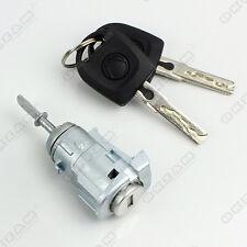 VW POLO 9N 2/3 DOOR COMPLETE DOOR LOCK SET + 2 KEYS FRONT RIGHT