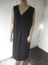 Emilia Lay  zauberhaftes Kleid Gr. 46/48 Schwarz  ärmellos   NEU
