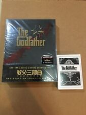 Godfather Trilogy Blufans Steelbook Black version With Bonus Playing Cards