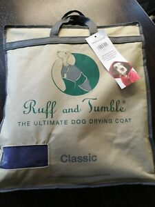 Ruff & Tumble Classic Dog Drying Coat - Size L in Heather (Purple)