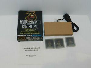 Mortal Kombat 3 Kontrol Pad Version 1 Innovation Sega Genesis NEW in Box CIB