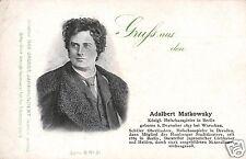 4168/ 2 AK, Schauspieler Albert Matkowsky, Sarah Bernhardt, ca. 1910