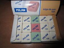"""CAJA DE 30 GOMAS MILAN 430 """"MIGA DE PAN"""""""