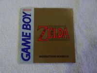 Legend of Zelda Link's Awakening (Nintendo Gameboy) Manual Only Instruction Book