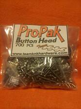 700 pc Button Head Pro Pak Stainless Steel Screws axial rc4wd scx10 wraith 3mm