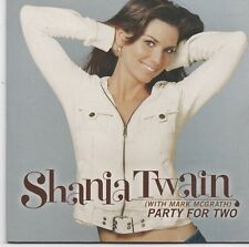 Shania Twain-Party For Two cd single