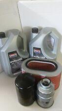 Mitsubishi Pajero 2.5TD 2.5D Oil Air Fuel Filter 10LTs 10W40 Service kit 1986-00