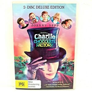 Charlie And The Chocolate Factory (DVD, Region 4, 2005)