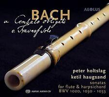 Bach: Cembalo Obligato E Travers Solo [New SACD]
