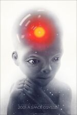 2001 A Space Odyssey Édition Limitée Impression #275 Mondo Stanley Kubrick Greg