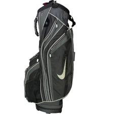 Nike Mens Sport 14-Way Cart Golf Bags Black Pockets Zipper One Size
