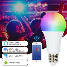 E26 E27 E14 Lampada Dimmerabile a LED wireless WiFi Smart Per Amazon Alexa Home