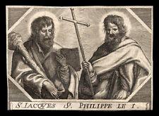 santino grabado 1600 SAN FILIPPO E GIACOMO AP