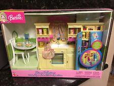 Barbie: Decor Collection Kitchen Playset, Barbie Kitchen new
