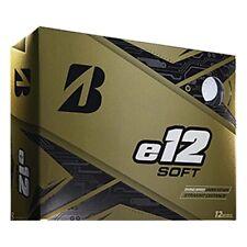 Bridgestone 2020 e12 Soft White Golf Balls - 1 Dozen