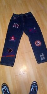 Negro Baseball Museum Jeans Blue Denim 34