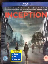 INCEPTION - Triple Play (BLU-RAY/DVD/DIGITAL) . FREE UK P+P ....................