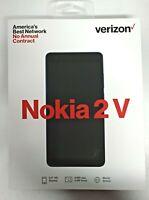 NEW ~ Verizon Wireless Nokia 2V TA-1136 8GB Smartphone  GSM  - BLUE/SILVER
