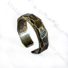 Fashion Adjustable Bronze + Gift Box Vintage Retro Style Metal Ring Rough Punk