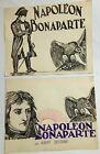 Napoleon Bonaparte Deux Projets Pour Le Film A L Encre 1927