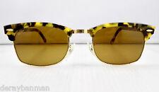 90's Ray Ban Clubmaster Square B&L USA W1483 Sunglasses & Case