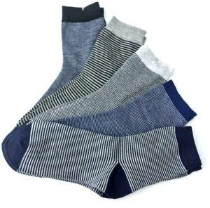 5 Paar Damen Socken bunt gestreift Strümpfe Ringel Söckchen Sneaker 36-41 #108