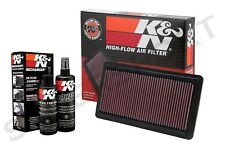 K&N 33-2279 Hi-Flow Air Intake Drop in Filter + 99-5050 Recharger Cleaning Kit