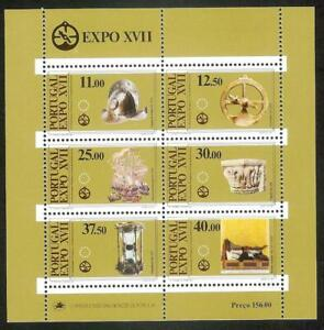 Portugal 1983 - 17th EXPO, Art, Science, Culture S/S MNH