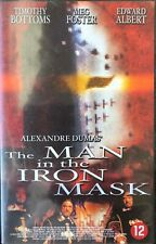 THE MAN IN THE IRON MASK - ALEXANDRE DUMAS - VHS