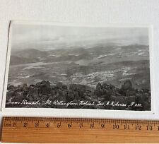 Vintage Photo Postcard Mt Wellington Hobart Tas AB Series No 280 Australia