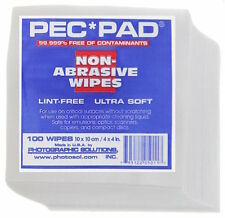 Photographic Solutions Pec Pad Photowipes for Photographic Emulsions 100 Sheets