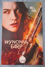 Wynonna Earp TV Show Promo Poster Fan Expo Comic Con 2017 Melanie Scrofano