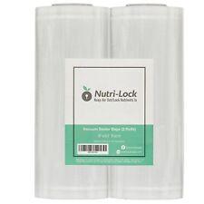 "Vacuum Sealer Bags / Rolls. 2 Pack 8""x50'. Foodsaver Style Saver bags. Sous Vide"