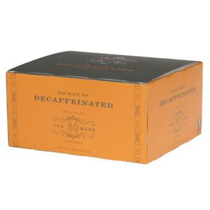 Harney & Sons Black Tea, Tea Bags, Decaffeinated, 50 Count