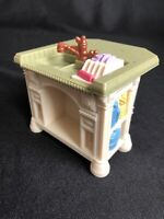 Fisher Price Loving Family Dollhouse Kitchen Island Sink Counter Dishes