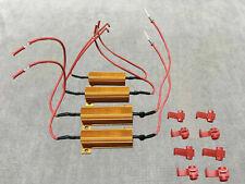LED 50w resistor dash error canceler harness 1157 1034 3496 Front Signal W1 AE