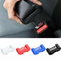 2X Universal Car Seat Belt Buckle Silicone Cover Clip Anti-Scratch Cover AU