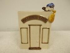 Vintage 1975 Fitz & Floyd National Bank Robber Ceramic Vase Holder